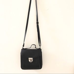 H&M black crossbody bag